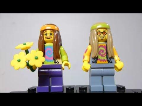 NEW LEGO MINIFIGURES Hippie