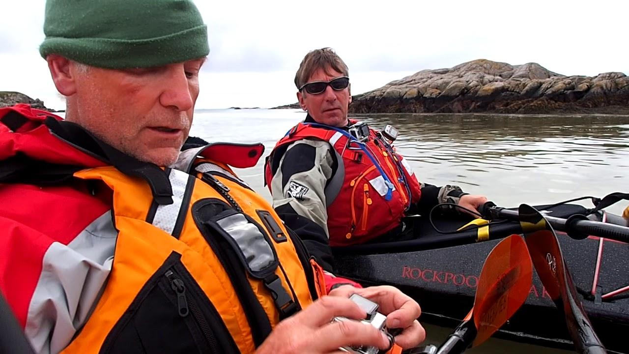 Sea Kayaking Daftness South West Mull - YouTube
