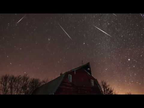 Meteor Shower, The shooting star
