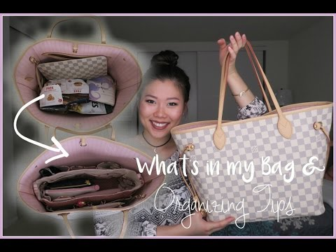 What's In My Neverfull Bag + Organization Tips!