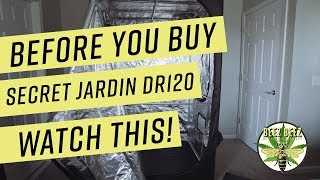 Secret Jardin DR120 Grow Tent Review