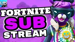 FORTNITE PS4 LIVE NEW *DJ BOP* VBUCK GIVEAWAY SUB STREAM - FORTNITE WEDNESDAY