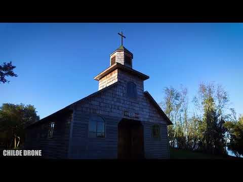 Chiloe Drone-Aucar-Isla de las Almas Navegantes