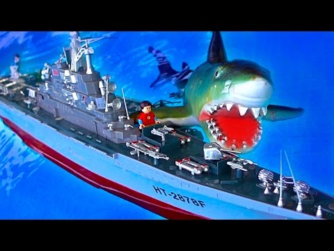 Russian Atomic Aircraft Carrier RC Shark Attack Cheap Warshi