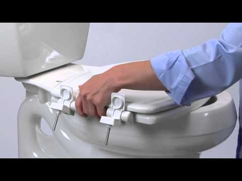 How To Install Toilet Seat - Easy•Clean & Change™ with STA-TITE ...