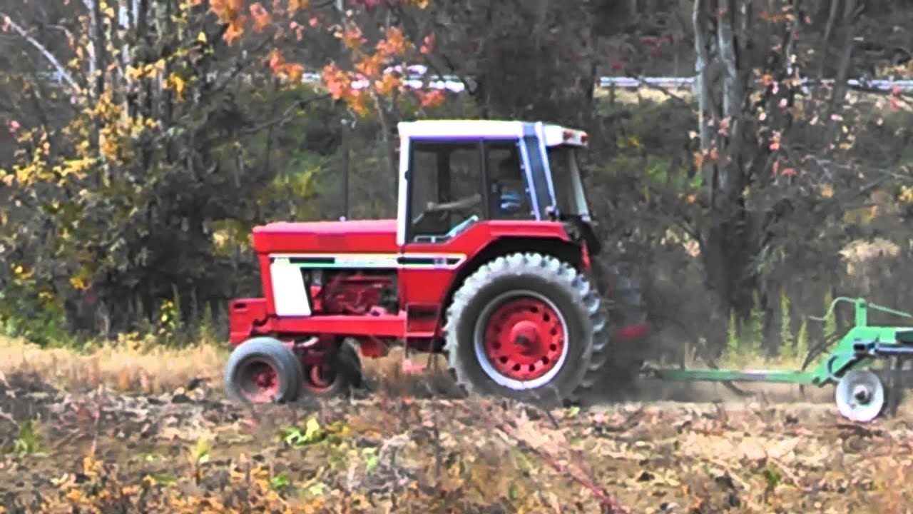 International Harvester 986 Tractor : International harvester youtube