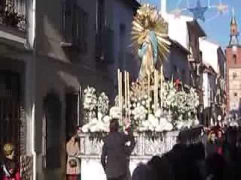 Procesión de la Inmaculada Concepción, Patrona de Herencia (Ciudad Real)