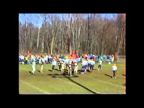 Baraga Viking Football - 1995 Playoffs vs North Dickinson