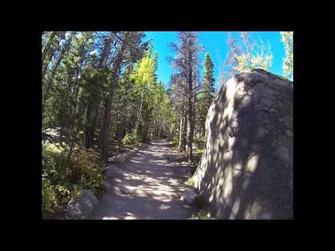 Trail of Highways™ Glacier Gorge Trail Hike to Mills Lake on to Bear Lake 9 20 2015 Sq1