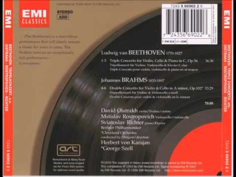 Beethoven, Triple Concerto (Oistrakh, Rostropovich, Richter)
