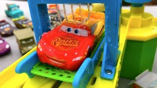 Thomas and Friends Trains Disney Cars Toys Lightning McQueen Changing Color