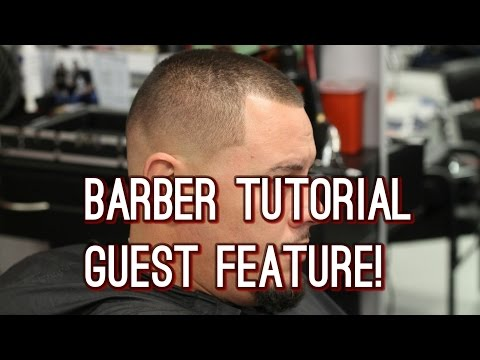 How to Cut Hair | Guest Feature | Barber Christian Perez!