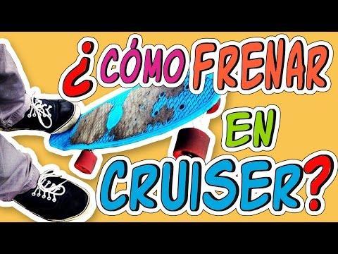 4 FORMAS PARA FRENAR EN PENNY O CRUISER | frenar en penny- cruiser | COMO FRENAR EN PENNY
