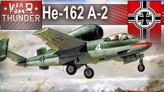 Heinkel He-162 A-2 w bitwie realistycznej - War Thunder