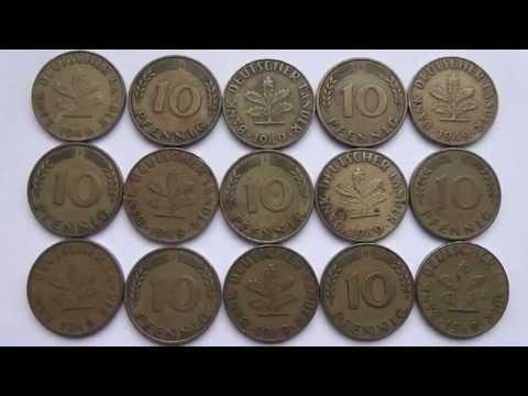 Bank deutscher Länder - 10 Pfennige aus dem Jahr 1949