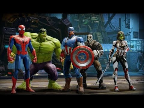 Top 5 High Graphics Marvel Games On Android (2018)