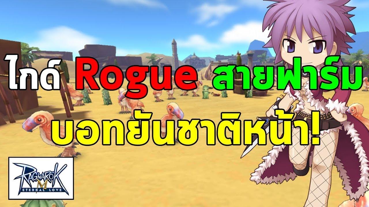 ไกด์ Rogue สายฟาร์มของ   Ragnarok M Eternal Love (RO M)