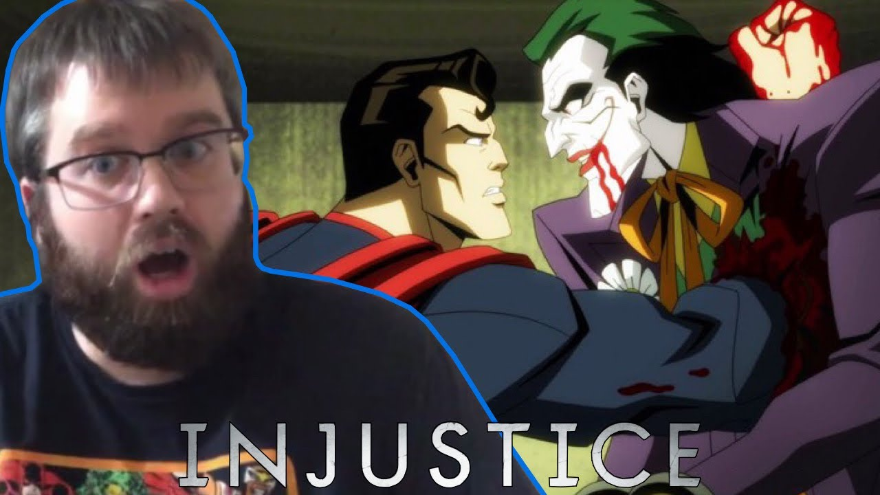 Injustice   Red Band Trailer Reaction!!!