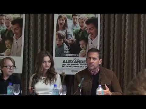 """Alexander and the Terrible, Horrible, No Good, Very Bad Day"" Press Conference - Cast"