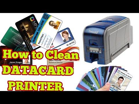 How to Clean DATACARD Printer (PVC Card Printer)