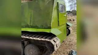 Самодельный гусеничный вездеход