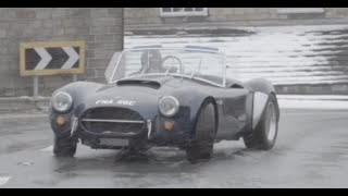 Snow Drifting Cobras and Inspecting Cars - /DRIVEN