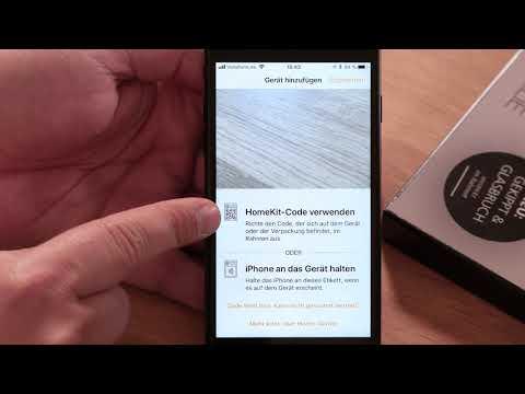 Apple HomeKit | Einlernen des EiMSIG Fenstersensors