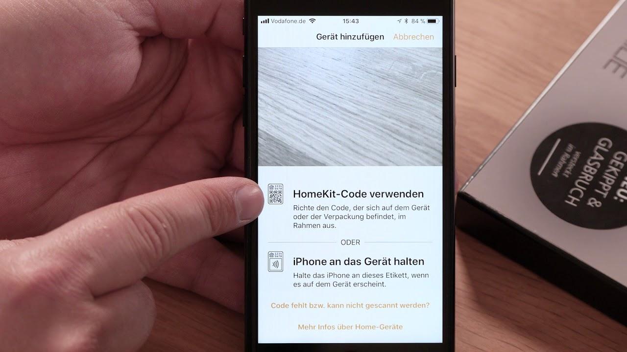 Apple Homekit Einlernen Des Eimsig Fenstersensors Youtube