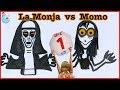 La MONJA VS MOMO | Haz DIBUJOS que cobran VIDA con agua | Round 3 | LUNA MIA DIBUJOS