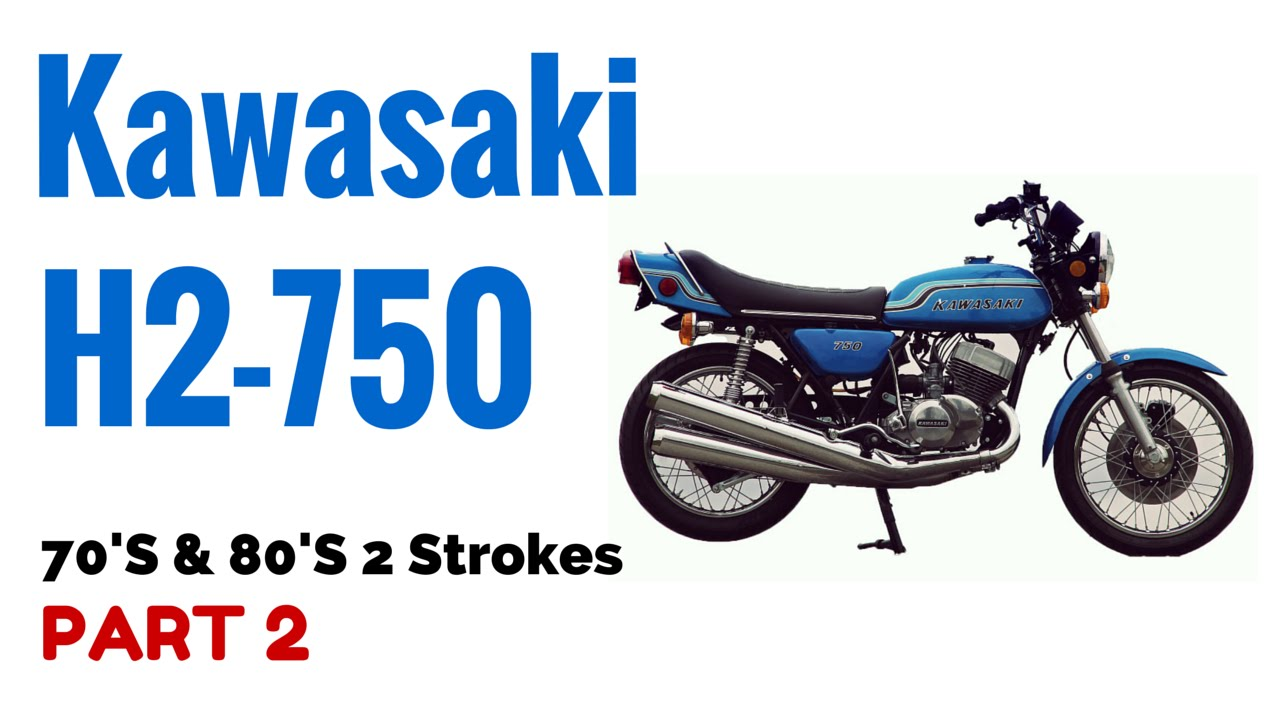 The Kawasaki H2 750 Motorcycle Review 70's & 80's 2 Strokes Part 2