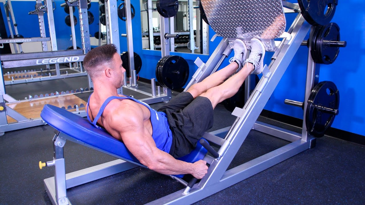 Image result for Leg Press Calf Raise