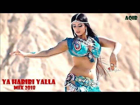 Arabic Remix - Ya Habibi Yalla (Remix)_HD video Song 2018 - Moshe Buskila FT[ AqIB & BassMusic]