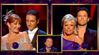 Judge's Vote - Stephanie & Vincent - Strictly Come Dancing - BBC