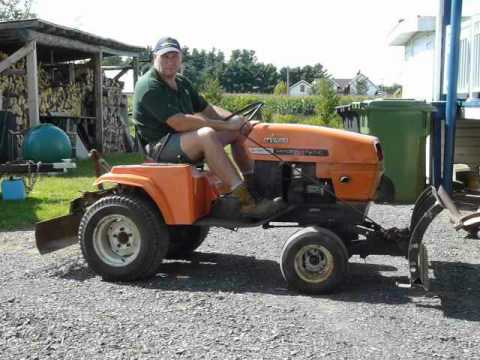 Tracteur hydrostatic ariens 16 hp YouTube