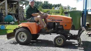 Tracteur hydrostatic ariens 16 hp