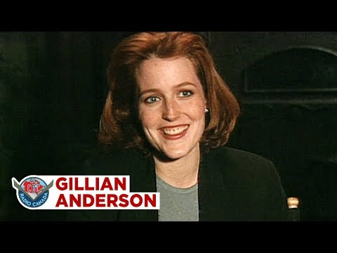 How Gillian Anderson became XFiles Agent Scully, 1995