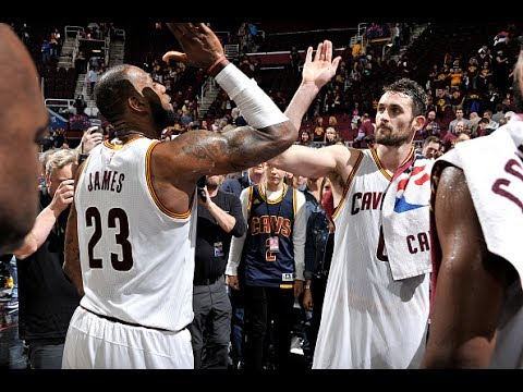 The Cavaliers Big 3 Combine for 93 Points in Game 4   May 23, 2017