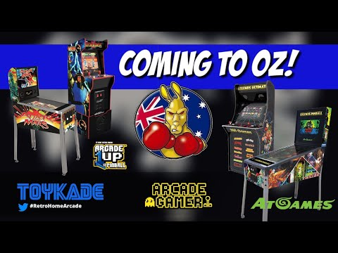 Arcade1up & AtGames Australian Update! More cabs coming in 2021! from ToyKade