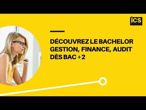 Le Bachelor Gestion, Finance, Audit de l'ICS Bégué (dès Bac +2)