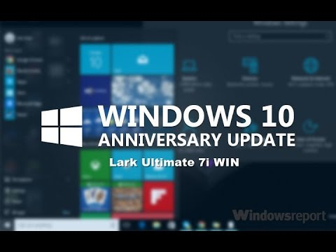 Instalujemy Windows 10 Anniversary 1607 na tablecie lark ultimate 7i WIN