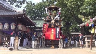 2013 牛立町 牛頭天王車 天王祭 (14:07)