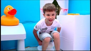 Kids build DIY playhouse by their own