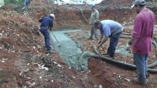 Design-build Narrow Lot Vlog #5 - Pouring Concrete Footings