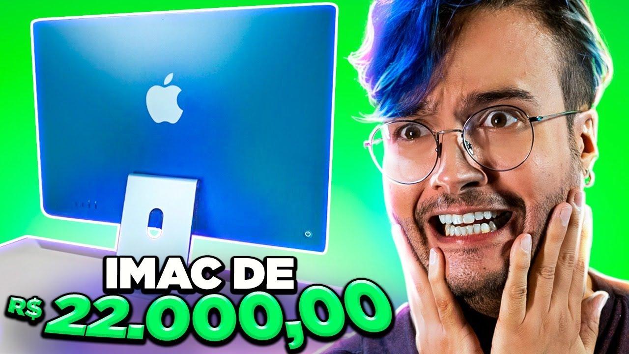 iMac M1: FINO e PODEROSO, mas vale R$22.000,00? Unboxing