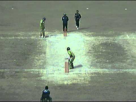 zain abbas of multan tigers hits a SIX against faisalabad wolves in national one day cup