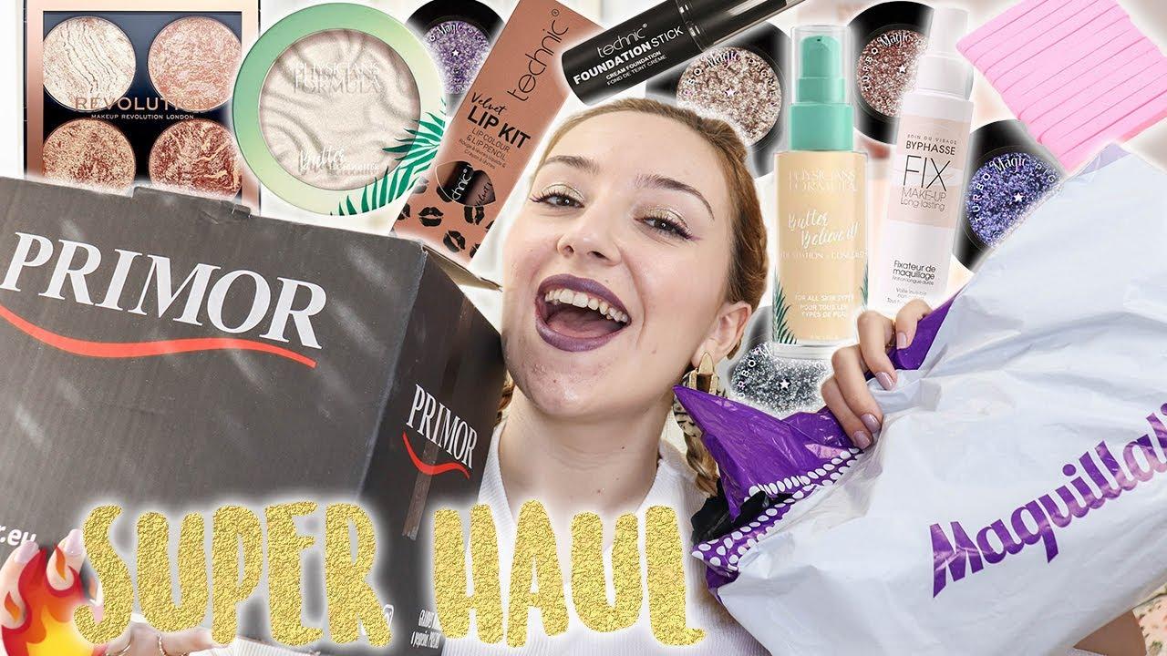 🤑🔥 Súper HAUL de PRIMOR y MAQUILLALIA!! (Novedades de Technic, Physicians...) Maquillaje Low Cost
