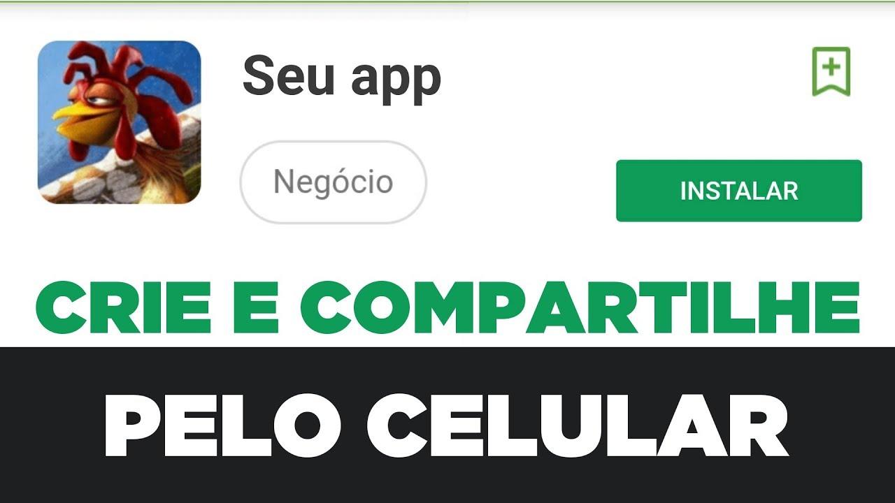 Como criar um aplicativo pelo celular grátis e fácil    iGenApps