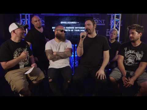 Breaking Benjamin answer questions from Twitter at Pointfest