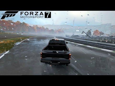 Forza Motorsport 7 - Correndo Na Chuva De Ford F-150 Raptor - GoPro ‹ ZoiooGamer ›