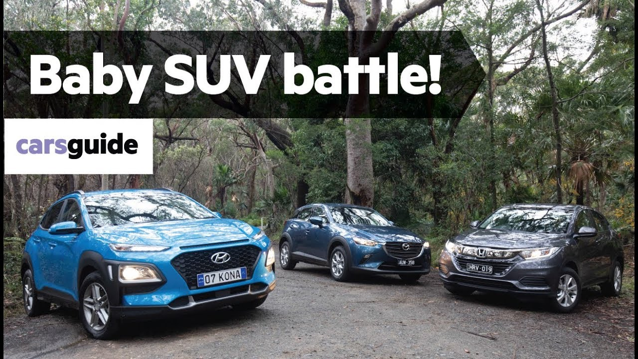 Mazda Cx 3 Vs Honda Hrv >> Hyundai Kona Vs Honda Hr V Vs Mazda Cx 3 2019 Comparison Review
